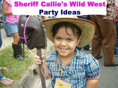 Sheriff Callie's Wild West party ideas from start to finish