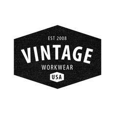 Vintage Workwear Logo Templates for Photoshop and Illustrator