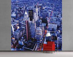 Fotobehang Uitzicht vanaf het Empire State Building