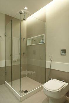 banheiro social - nicho na parede