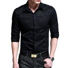 Camisa gris hombre | Men's wear & accessories /Moda y accesorios ...