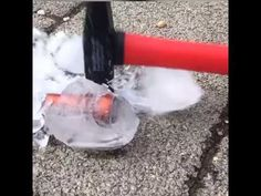 METALFORMS CE-1 bowl piece vs. ICE & HAMMER  -> result: UNBREAKABLE & DURABLE Ice, Youtube, Ice Cream, Youtubers, Youtube Movies