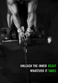 Unleash the inner beast.