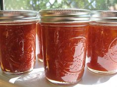 Strawberry & Rhubarb Jam: Hey canners, here's a new twist for your usual strawberry jam.