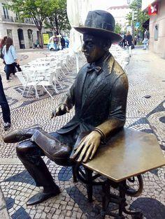 Fernando Pessoa, Lisbon - PORTUGAL