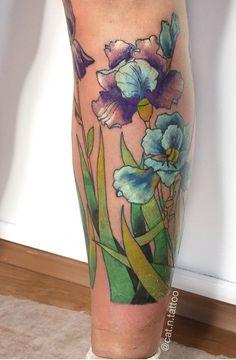 Anastasia Kat flower tattoo