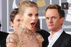 21 Awesomely Shady Snapchats From Taylor Swift. I love Neil Patrick Harris's face in the background >>>