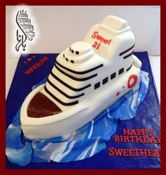 Boat cake  Cake by BelHana