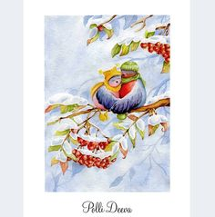 Немного снежное воскресенье. И нет ничего лучше обнимашек Пс. Обними любимых #watercolor #birds #aquarelle #color #winter #draw #paint #painting #illustrator #illustration #art_wisper #art #miillustrations #childrenillustration #handcrafted #творчество #изо #рисую #акварель #снегири #bullfinch #rowan #love #lovestory #любовь #обнимашки @miillustrations @illustration_best @watercolor.illustrations
