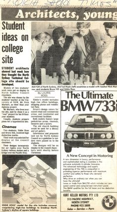North Shore Times, UNSW students remodel North Sydney Technical College, 1980