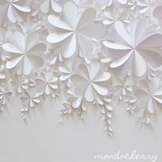 A small bite of mondocherry: 3d paper artwork