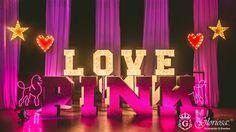Love PINK en los 15 Años de Miranda con temática PINK de Victoria's Secret by GLORIOSA #pink #event #victoriassecret #decor