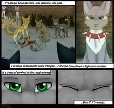 Eyes Of A Raven -Page serenitywhitewolf.c… previous: serenitywhitewolf.c… Start: E.R- Cover (REDO) This one is smaller than the other p. Raven Comics, Warrior Cats Comics, Warrior Cats Series, Warrior Cats Fan Art, Warrior Cats Books, Cat Comics, Warrior Cats Scourge, Love Warriors, Cat Boarding