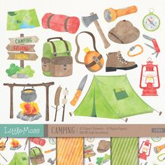 Camping Clipart, Travel Clipart, Los Paw Patrol, Camping Books, Camping Ideas, Budget Nursery, 2 Clipart, Fish Camp, Photoshop Elements