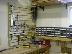 Pappy's Woodshop Storage | Tool_Rack_Small_Cabinets