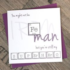 Anniversary Periodic Table Iron Man  by ThePaperScientist on Etsy