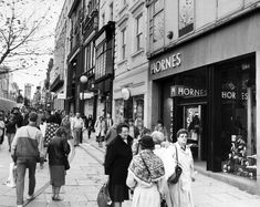 Looking back at old shops in Liverpool