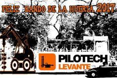 Pilotech Levante desea que paséis un gran Bando de La Huerta 2017.