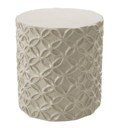 Stray Dog Designs Flower Kingsport Stool Accent Table