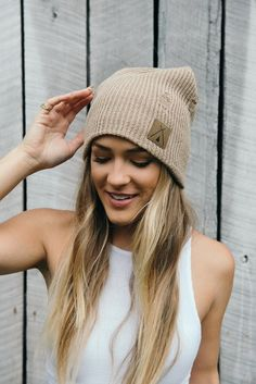 Road Tripper II / Tan #beanie #hat #headpiece