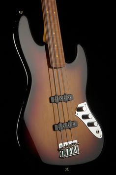 1 Fender because its Jaco Pastorius Fretless Jazz Bass - Bass Centre