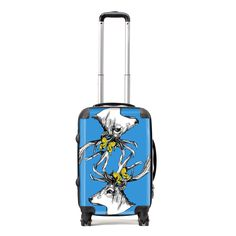 Stand out from the crowd and celebrate your Scottishness, wherever you are in the world. This stunning Gillian Kyle suitcase comes in a variety of size options and is adorned with Gillian