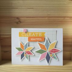 Hope you're able to create something beautiful this weekend!  #jillibeansoup #cardmaking #cards #create #sewhappysunshinesoup