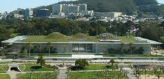 California Academy of Sciences, home to an aquarium, planetarium, and natural history museum | San Francisco Recreation and Park