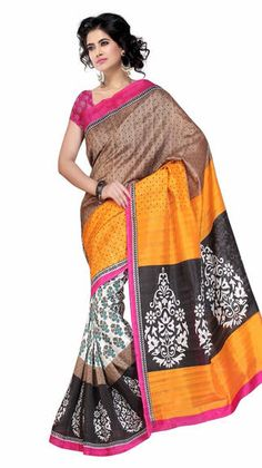Latest Fashion Blog - Ewows - Bhagalpuri Silk Sarees –Most In-Fashion Ethnic Ensemble