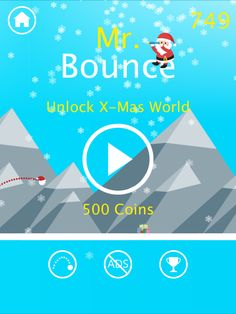 Mister Bounce: A simple one tapping ball game for iOS and Android Game Dev, Arcade Games, Google Play, Things That Bounce, Android, Ads