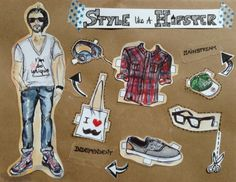Style like a hipster