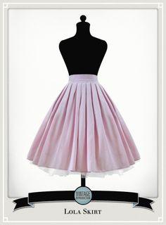 vintage repro skirt