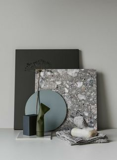 A moodboard is always an inspiration to interior design! Colour Schemes, Color Trends, Mood Board Interior, Material Board, Living Room Green, Concept Board, Colour Board, Tile Design, Design Color