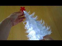 3D Weihnachtsbaum aus Papier selber machen - YouTube
