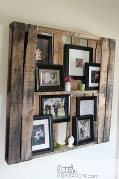 Love this and think I might have to take some pallets home from work to make this.