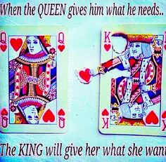Any home can be a castle when the queen & king love, honor and cherish eachother.