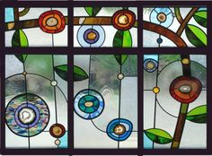 geode stained glass stained-glass