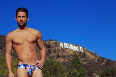 See how we shot our 'Kaleidoscopic' swimwear briefs in this behind-the-scenes photoshoot video