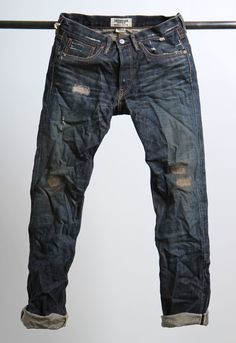"""""""made in usa"""" from japanese salvage denim"""