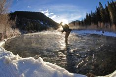 Allegiant Air 15 Days of Telluride: Day Winter Fly Fishing Fishing Places, Fly Fishing, Snowboarding, Skiing, Allegiant Air, Florida Camping, Winter Mountain, Winter Activities, Winter Fun