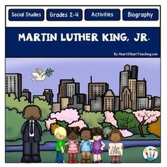 Martin Luther King : Martin Luther King Jr. Activity Pack and Flip-Up Book : Your students will love learning all about Martin Luther King Jr. with this hands-on resource!Martin Luther King Jr. dedicated his life to making the world a better place for everyone!