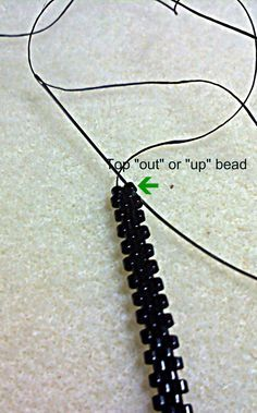 I'm not sure if everybody who does peyote stitch knows this or not but recently a friend (who is way more advanced in this beading business...