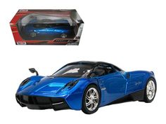 Brand new 1/24 scale diecast car model of Pagani Huayra Blue die cast model car by Motormax. Brand new box. Real rubber tires. Has opening doors. Detailed interior, exterior. Made of diecast with some plastic parts. Dimensions approximately L-7.25, W-3.25, H-2 inches. Please note that manufacturer may change packing box at anytime. Product will stay exactly the same. New Sports Cars, Exotic Sports Cars, Sport Cars, Exotic Cars, Pagani Huayra, Car Racer, Star Wars, Rubber Tires, Diecast Model Cars