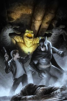 Batman Eternal #18 - Alex Garner