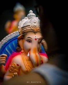 Shri Ganesh Images, Ganesh Chaturthi Images, Ganesha Pictures, Ganpati Bappa Photo, Indian Goddess Kali, Shivaji Maharaj Hd Wallpaper, Ganesh Utsav, Ganesh Idol, Ganesh Wallpaper