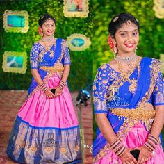 Pretty Little client of us flaunting our Sampradaya Collection customised for her. For orders/queries Whats app/ Call 8341382382 Stay Amazed! Kids Lehenga Choli, Half Saree Lehenga, Sari, Banarasi Lehenga, Lehenga Blouse, Half Saree Designs, Saree Blouse Neck Designs, Blouse Patterns, Half Saree Function