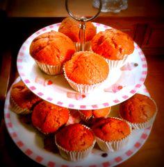 Muffins de plàtan i nous amb vainilla