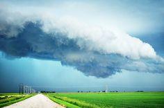 Manitoba prairie storm. Photo by Julianna Marie