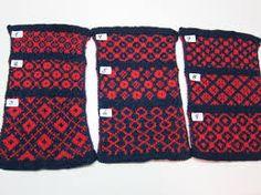 færøske strikkemønstre
