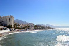 Playa de la Torrecilla, Nerja - Costa del Sol (Espagne)